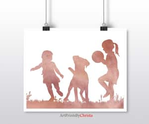 etsy, childs room decor, and rose gold wall art image