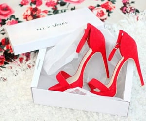 gorgeous, pretty, and red heels image
