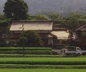 cinematography, japan, and village image