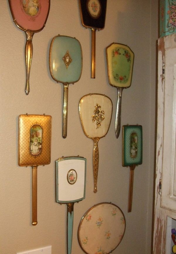 mirrors and vintage image