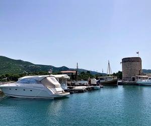 balkan, boat, and europe image