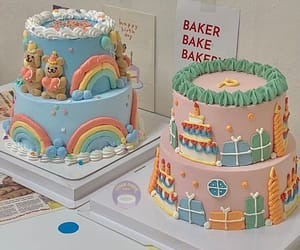 aesthetic, cake, and deco image