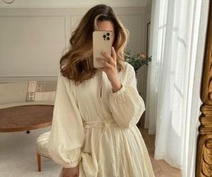 dress, fashion, and mirror image