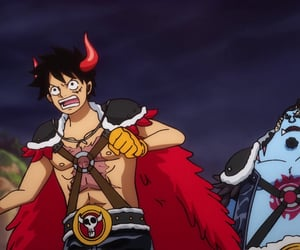 anime, handsome, and monkey d. luffy image