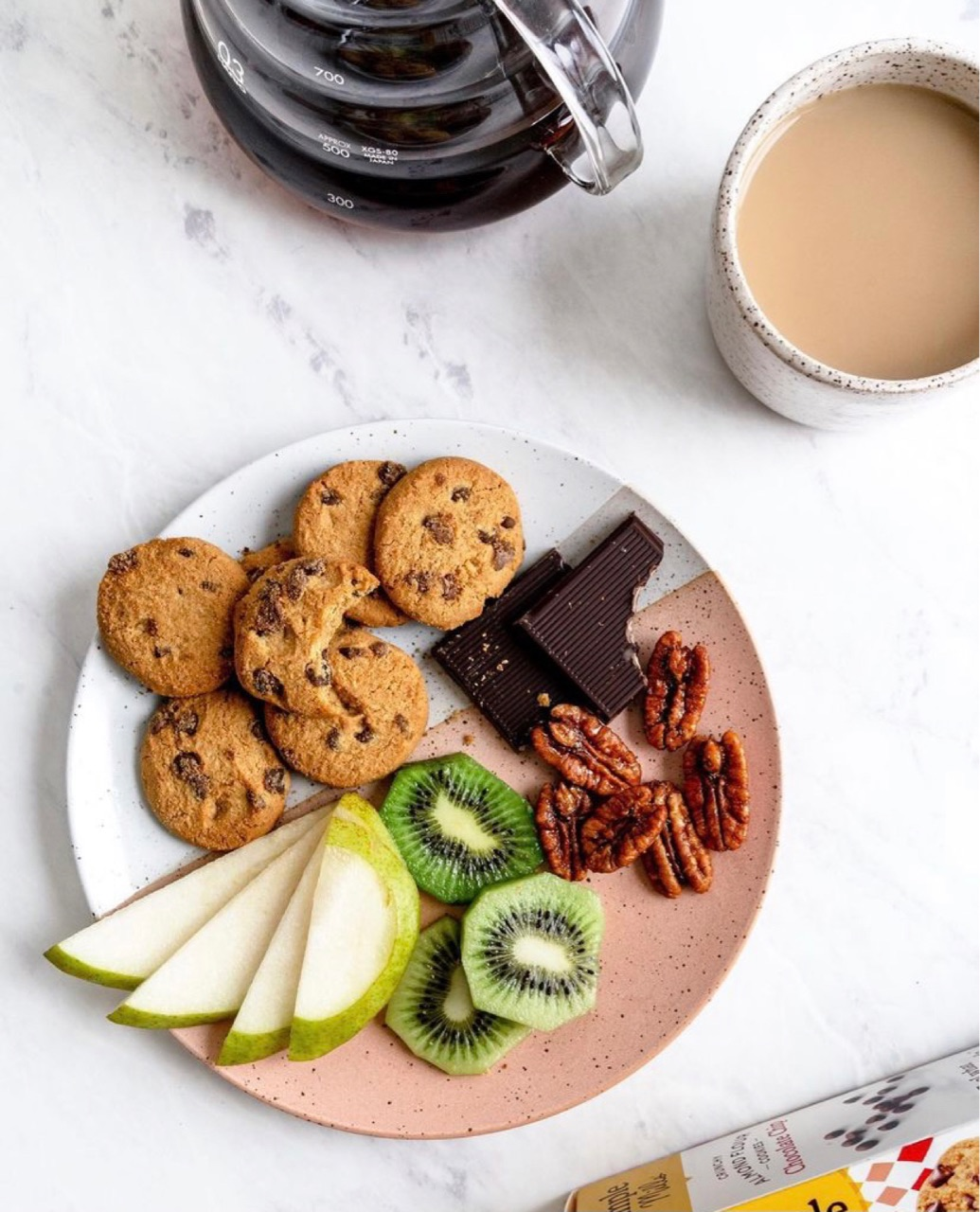 coffee, Cookies, and FRUiTS image