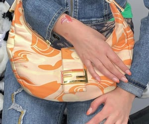 accessories and blue jeans image
