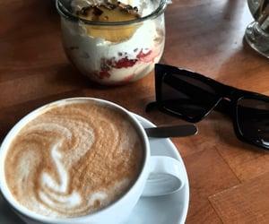 coffee, ice cream, and summer image