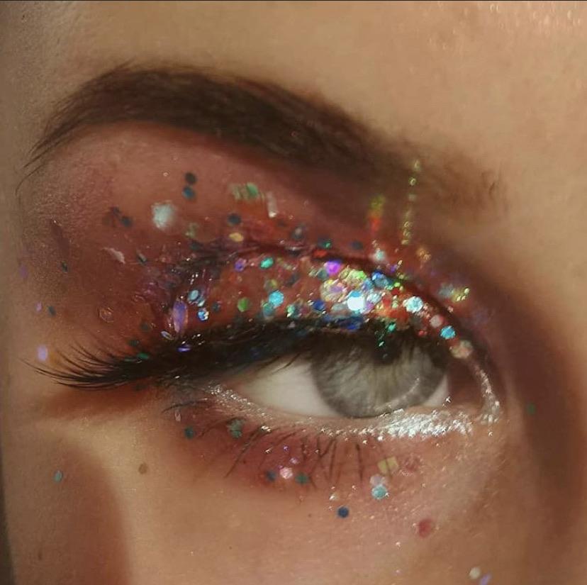 cosmetics, eyes, and lips image