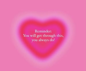 heart, inspiration, and message image