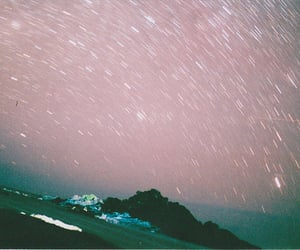 photography, sky, and stars image