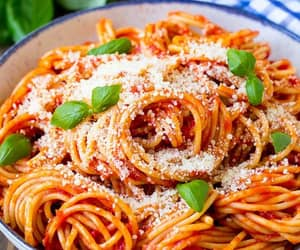 pasta and foodporn image