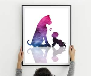 best friends, wall art, and child room decor image