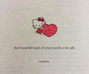 hello kitty, quote, and safe image