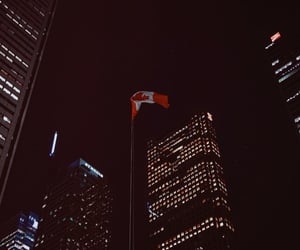canada, city, and city lights image