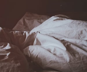 aesthetic, sheets, and bed image