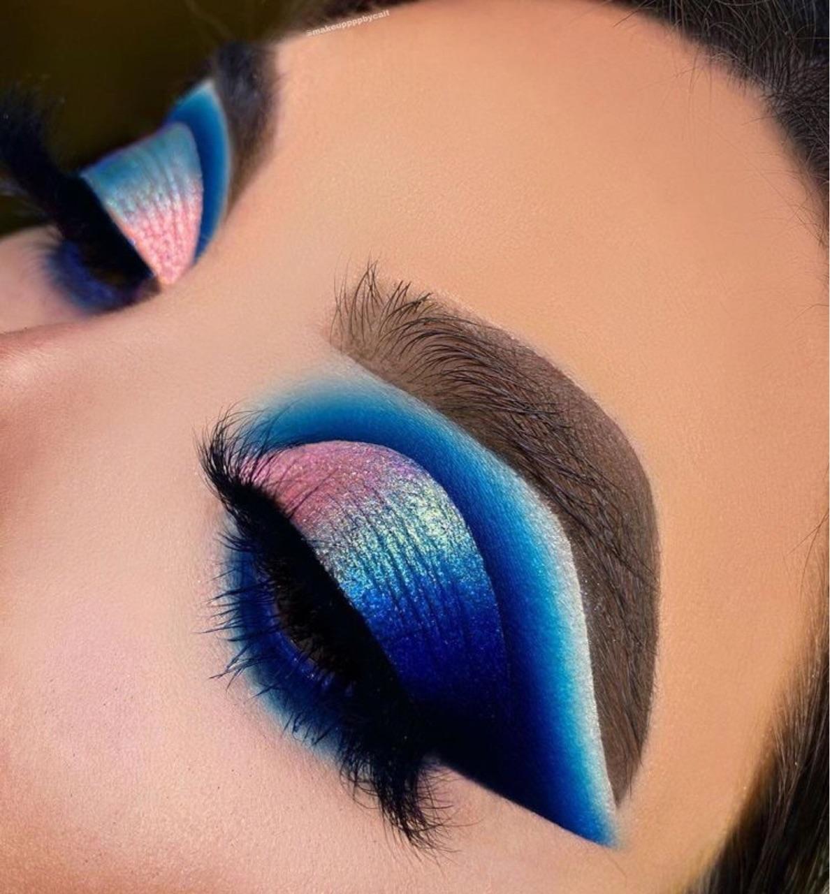 make, makeup, and fashion image