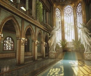 aesthetic, architecture, and fantasy image