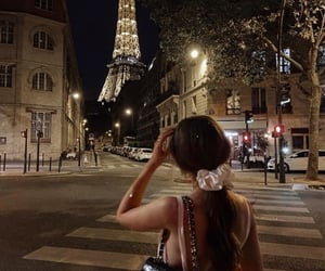 paris, fashion, and night image