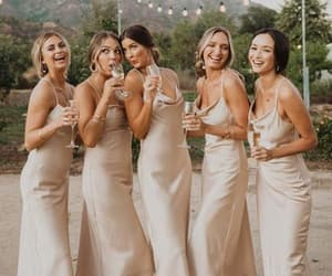 bridesmaid, partydresses, and wedding image