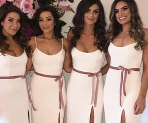 bridesmaid, partydresses, and dresses image