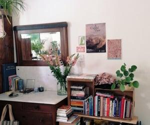 books, bookshelf, and home image