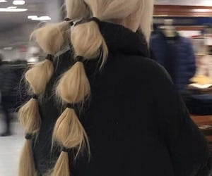 blonde hairstyle, blonde hair, and hairstyle image
