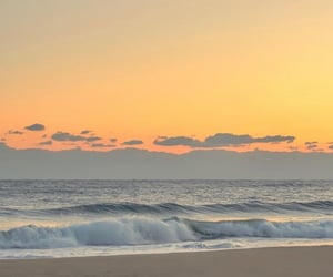 sunset, landscape, and nature image
