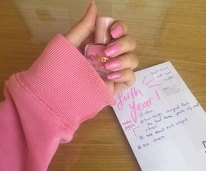 girly, hands, and nail image