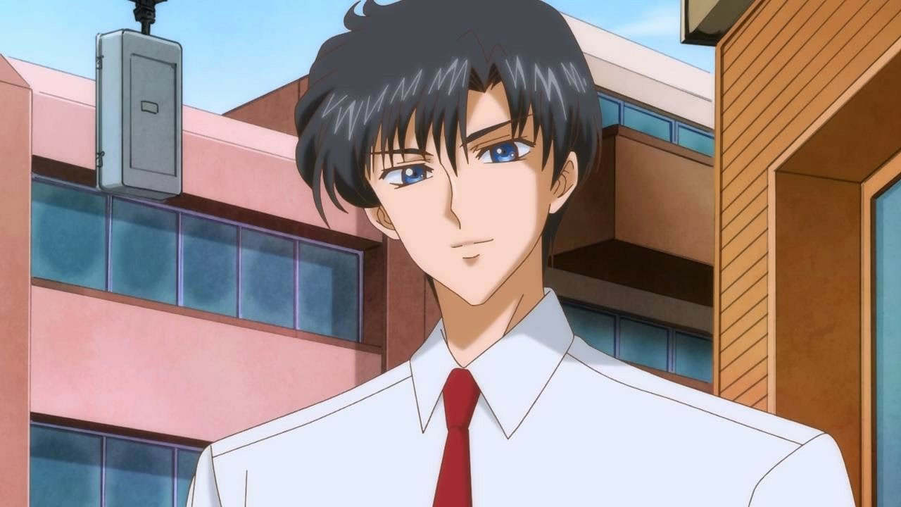 anime, sailor moon, and mamoru chiba image