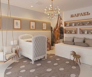 baby room, decor, and home image
