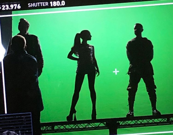 behind the scenes, reality, and ariana grande image