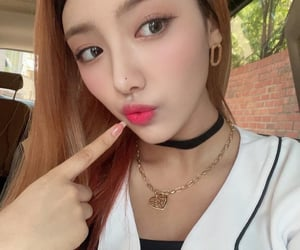 kpop icons, chowon, and lightube image