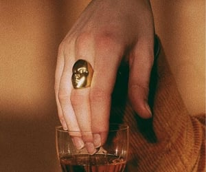 drink, hand, and brown aesthetic image