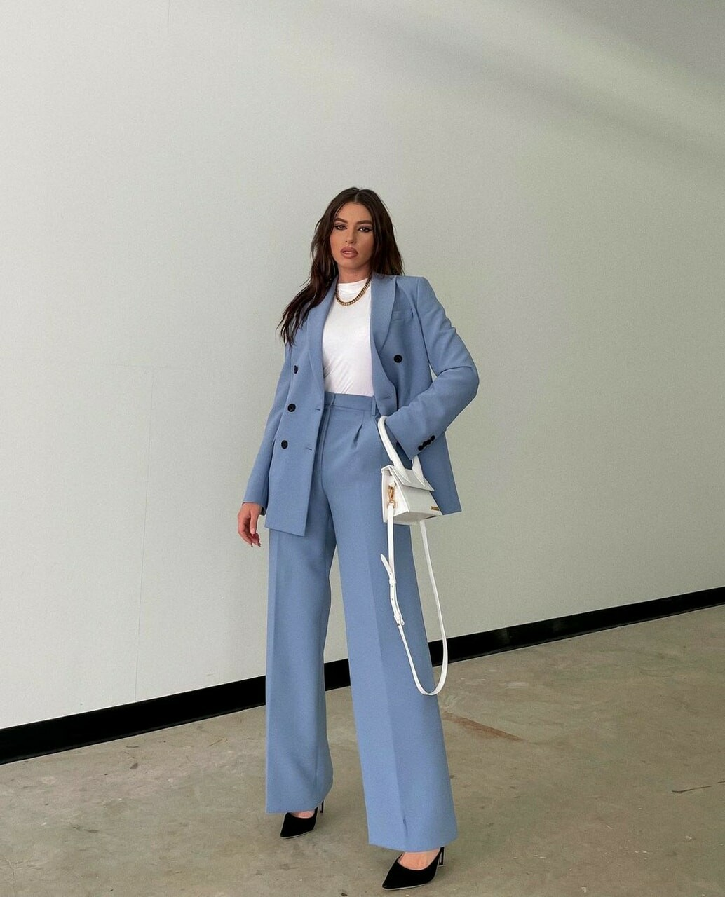 fashion and baby blue image
