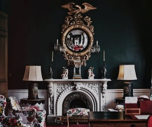 aesthetic, interior, and mantle image
