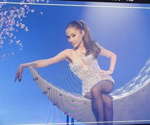 ariana grande, singer, and the voice image