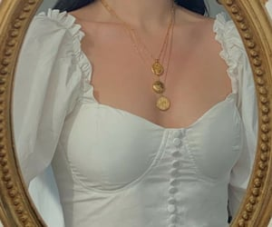 accessory, aesthetic, and collarbone image