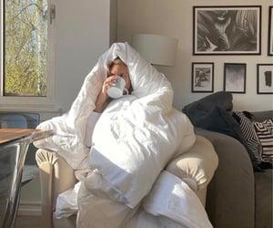quarantine, aesthetic, and blanket image