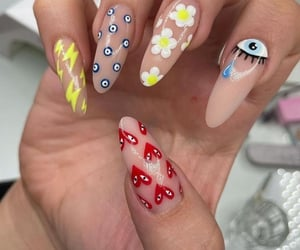 aesthetic, inspo, and nails image