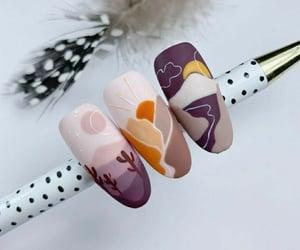acrylics, nail art, and acrylic nails image
