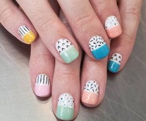 nail, nail polish, and nail design image
