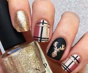 makeup, nail, and nail polish image