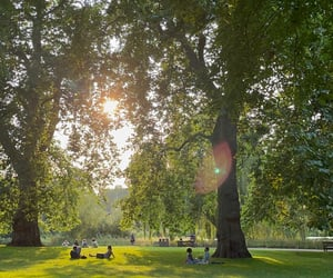 green, life, and london image