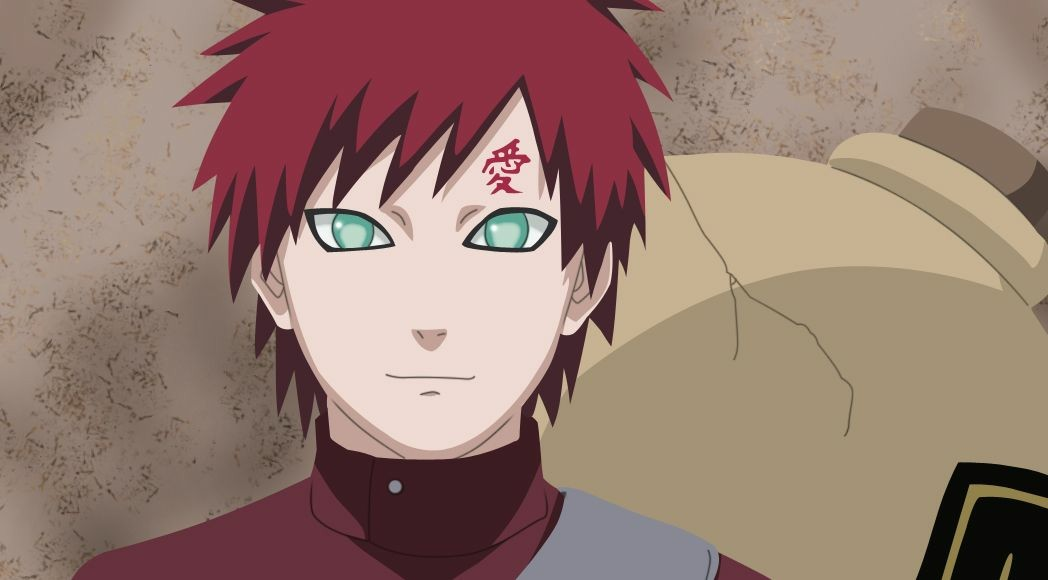 anime, gaara, and naruto image
