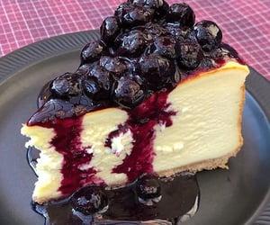 dessert, cake, and cheesecake image