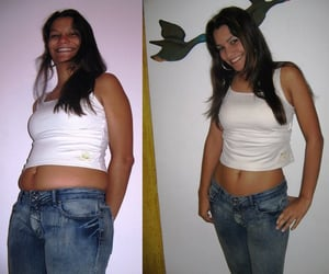 weight loss, flat belly, and lean belly image
