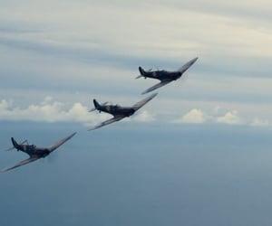 air, war, and airplains image