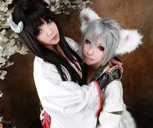 miketsukami, asian, and cosplay image