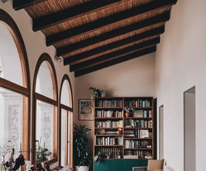 aesthetic, book nook, and books image