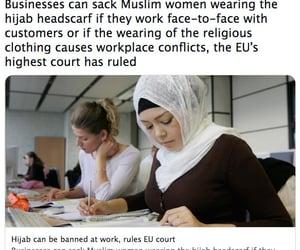 the war against women, muslin women, and hijab headscarf image